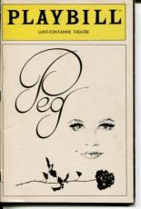 Peggy Lee Grady Tate Jay Leonhart Peg 1983 Opening Night Playbill