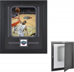 "New Orleans Pelicans 8"" x 10"" Vertical Setup Frame with Team Logo - Mounted Memories"