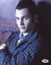 Penn Badgley Gossip Girl Signed 8X10 Photo Autograph PSA/DNA #M43665