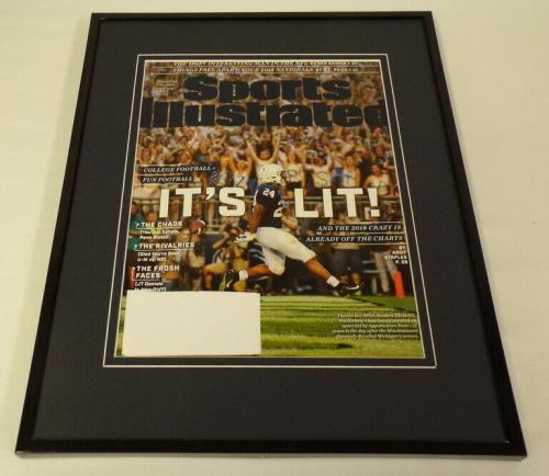 Penn State It's Lit 11x14 Framed ORIGINAL 2018 Sports Illustrated Cover Display