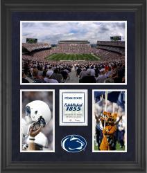 "Penn State Nittany Lions Beaver Stadium Framed 20"" x 24"" 3-Opening Collage"