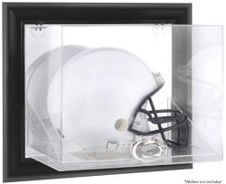Penn State Nittany Lions Black Framed Wall-Mountable Helmet Display Case