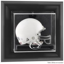 Penn State Nittany Lions Black Framed Wall-Mountable Mini Helmet Display Case
