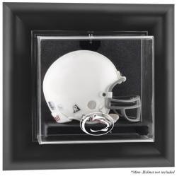 Penn State Nittany Lions Black Framed Wall-Mountable Mini Helmet Display Case