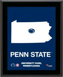 "Penn State Nittany Lions Sublimated 10.5"" x 13"" State Plaque"