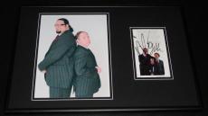 Penn & Teller Dual Signed Framed 12x18 Photo Display B