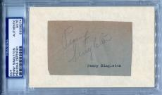 PENNY SINGLETON Vintage Signed Cut w/Rare Photo BLONDIE BUMSTEAD JETSONS PSA/DNA