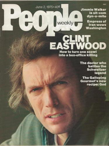 People Weekly Magazine June 2 1975 Clint Eastwood