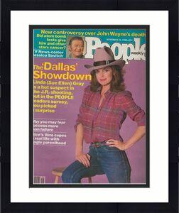 People Weekly Magazine November 10 1980 Linda Gray Dallas John Wayne Alice Vera