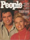 People Weekly Magazine October 28 1974 Burt Reynolds Dinah Shore