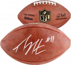 Percy Harvin Autographed Duke Pro Football
