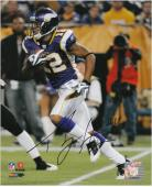 "Percy Harvin Minnesota Vikings Autographed 8"" x 10"" Action Photograph"