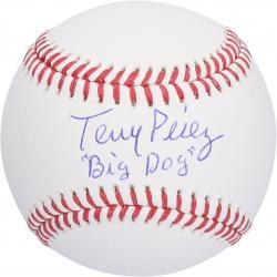 Tony Perez Cincinnati Reds Autographed Baseball with Big Dog Inscription