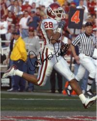 Fanatics Authentic Autographed Antonio Perkins Oklahoma Sooners 8'' x 10'' Running Ball Photograph