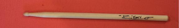 Pete Best Signed Autographed Drumstick The Beatles Drummer Exact Proof Coa