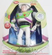 Pete Docter Signed Buzz Lightyear Toy w/COA Toy Story