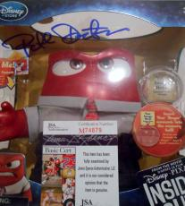 Pete Docter Signed Inside Out Toy w/JSA COA M74879 Talking Anger
