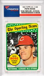Pete Rose Cincinnati Reds 1969 Topps A.S. #424 Card