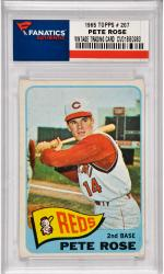 Pete Rose Cincinnatti Reds 1965 Topps #207 Card
