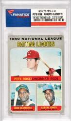 Pete Rose / Roberto Clemente Cincinnati Reds & Pittsburgh Pirates 1970 Topps #61 Card