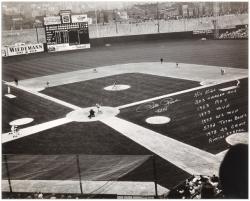 """Pete Rose Cincinnati Reds Autographed 16"""" x 20"""" Photograph with Multi Inscriptions"""