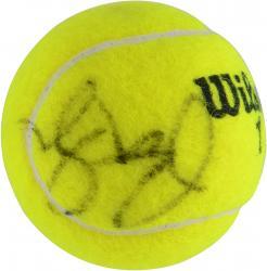 Pete Sampras Autographed Australian Open Logo Tennis Ball