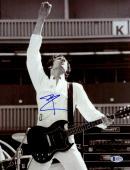 "Pete Townshend Autographed 11"" x 14"" Hand in Air Photograph - Beckett COA"