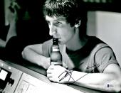 "Pete Townshend Autographed 11"" x 14"" The Who Drink Beer Photograph - BAS COA"