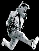 "Pete Townshend Autographed 11"" x 14"" The Who Playing Jumping Photograph 1  - BAS COA"