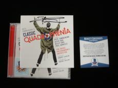 Pete Townshend Autographed 'Classic Quadrophenia' CD Jacket - Beckett