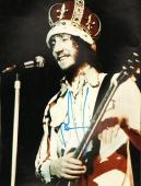 Pete Townshend Autographed Signed 11x14 Crowned Photo PSA AFTAL