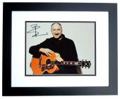 Pete Townshend Signed - Autographed THE WHO 11x14 inch Photo BLACK CUSTOM FRAME - Guaranteed to pass PSA or JSA