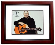 Pete Townshend Signed - Autographed THE WHO 11x14 inch Photo MAHOGANY CUSTOM FRAME - Guaranteed to pass PSA or JSA