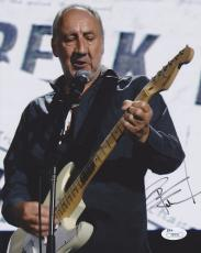 Pete Townshend Signed - Autographed THE WHO 8x10 Photo - JSA Authenticity