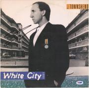 Pete Townshend Autographed White City a Novel Album - PSA