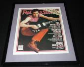 Pete Townshend Framed June 26 1980 Rolling Stone Cover Display The Who