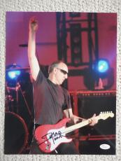 PETE TOWNSHEND HAND SIGNED OVERSIZED 11x14 PHOTO    AWESOME+RARE   THE WHO   JSA