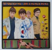 Pete Townshend & John Entwistle Signed Two's Missing Record Album PSA/DNA