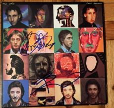 Pete Townshend Roger Daltrey Signed Autograph Original The Who Face Dances Album