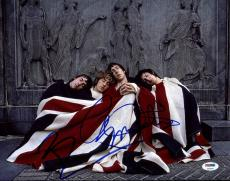 Pete Townshend & Roger Daltrey Signed The Who 11X14 Photo PSA/DNA #Z03400