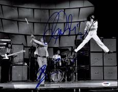 Pete Townshend & Roger Daltrey Signed The Who 11X14 Photo PSA/DNA #Z03401