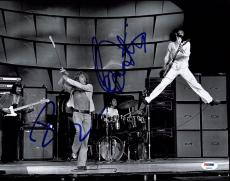 Pete Townshend & Roger Daltrey Signed The Who 11X14 Photo PSA/DNA #Z03403