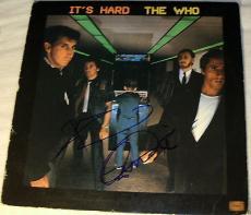 "Pete Townshend & Roger Daltrey Signed The Who ""it's Hard"" Vinyl Album Lp Psa Dna"