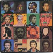 Pete Townshend & Roger Daltrey The Who Autographed Face Dances Album - PSA