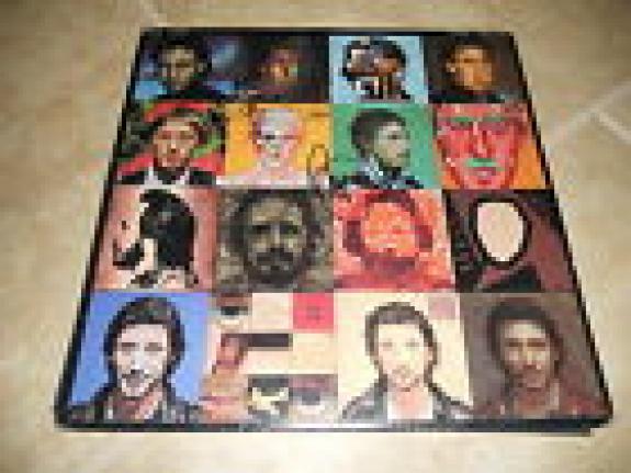 Pete Townshend Roger Daltrey The Who Face Dances Signed LP PSA Guaranteed