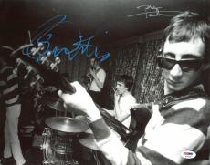 Pete Townshend & Roger Daltrey The Who Signed 11X14 Photo PSA #AC43152