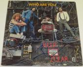 Pete Townshend Roger Daltrey The Who Who Are You Signed Album Lp Vinyl Autograph