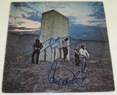Pete Townshend Roger Daltrey The Who Who's Next Signed Album Lp Vinyl Au