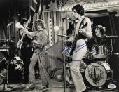 Pete Townshend Signed 11x14 The Who Photo PSA Y67461