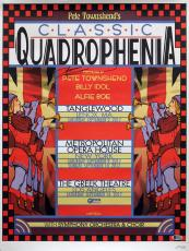 Pete Townshend Signed 18x24 Quadrophenia Tour LE #249/500 Poster BAS #D07122